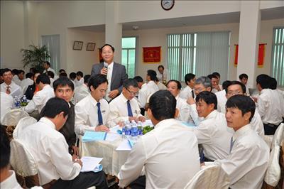 Văn hóa doanh nghiệp - Nghi thức hội họp